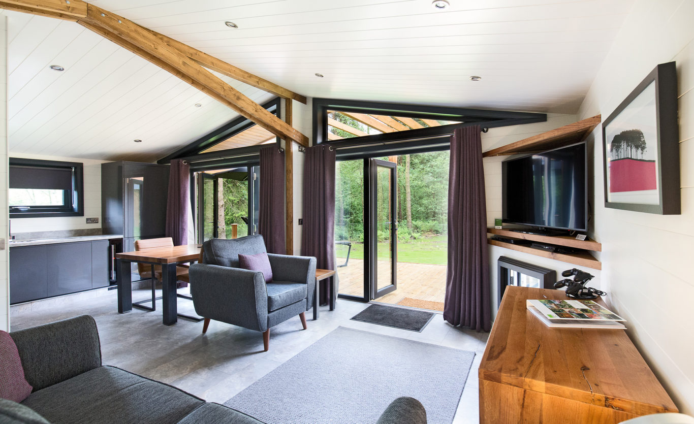 The Glade Timber Lodge — Lounge