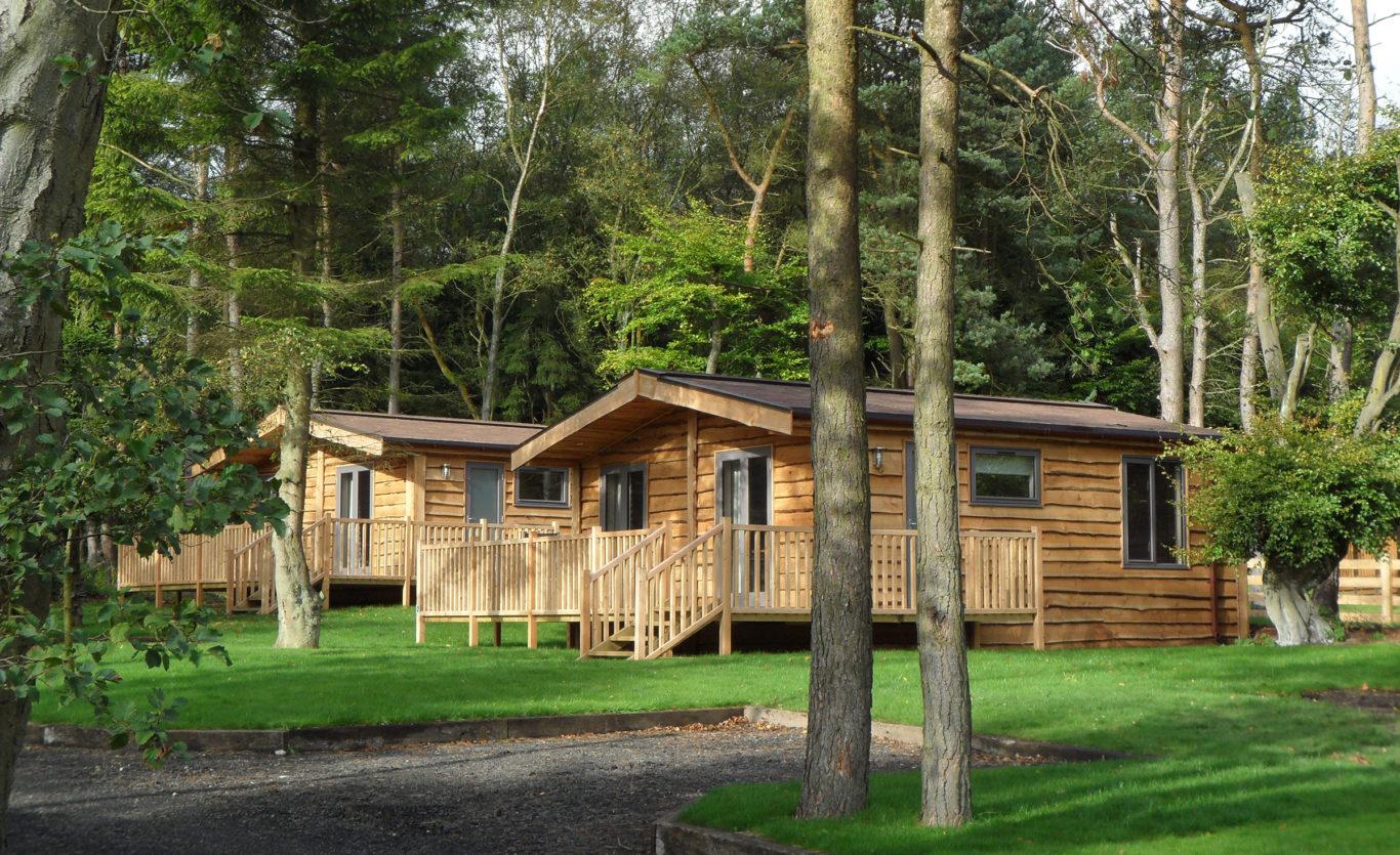 Woodsman quality built timber lodge