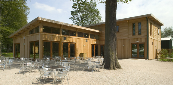 Cafe and education centre, Monkey Forest, Trentham, Staffordshire