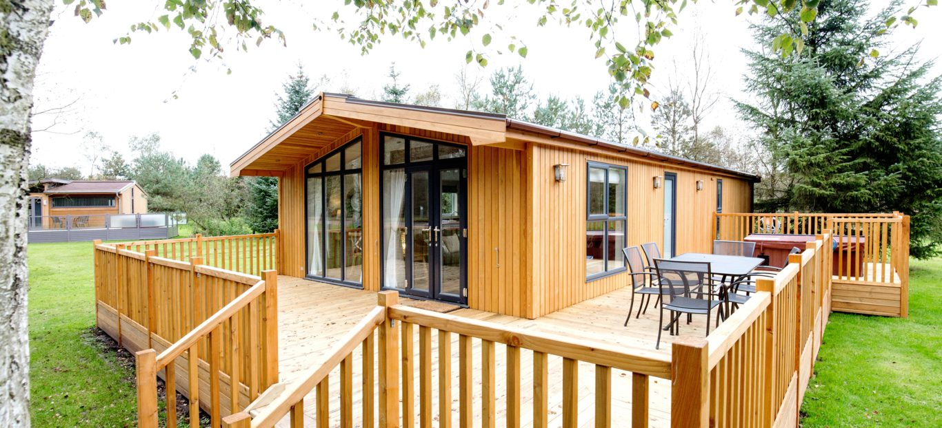 Skyline View Timber Lodge