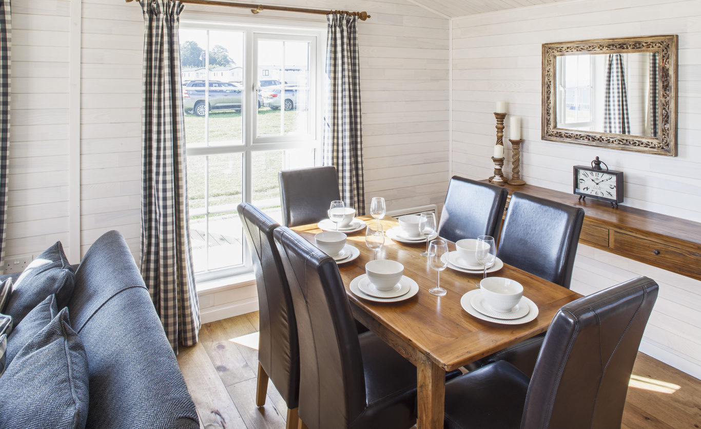 The New England Timber Lodge — Dining Room