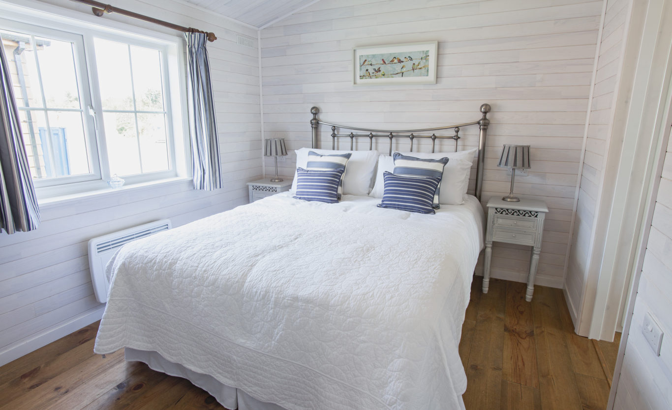 The New England Timber Lodge — Master Bedroom