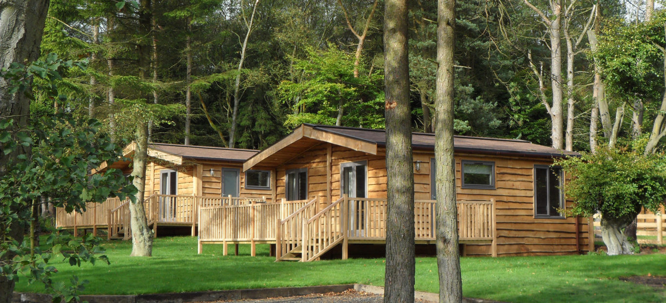 Woodsman quality built timber lodge