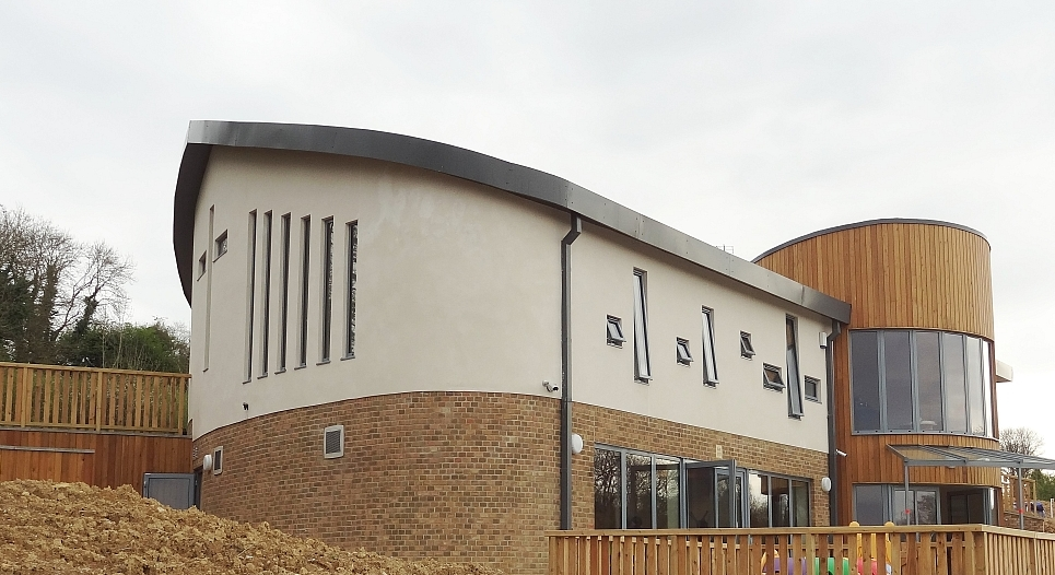 Community centre and church - exterior