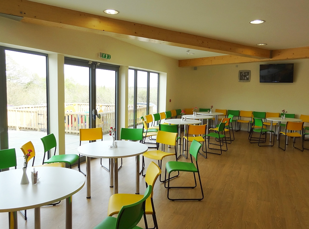 Community centre and church - interior coffee lounge