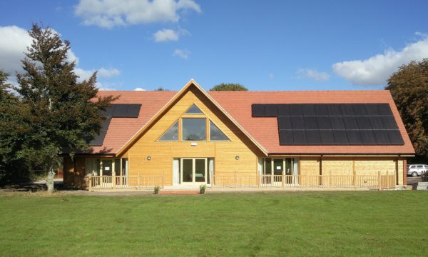 External view of Letcombe Regis Village Hall, Oxfordshire