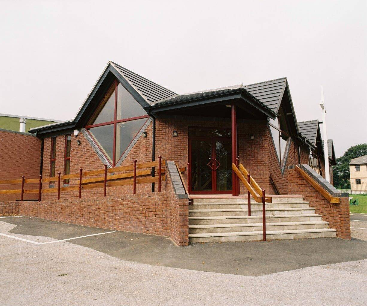 External view of Church building for Nottinghamshire Methodists