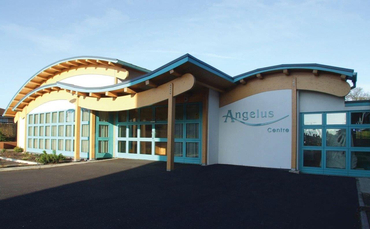 Angelus Centre Church Building front exterior