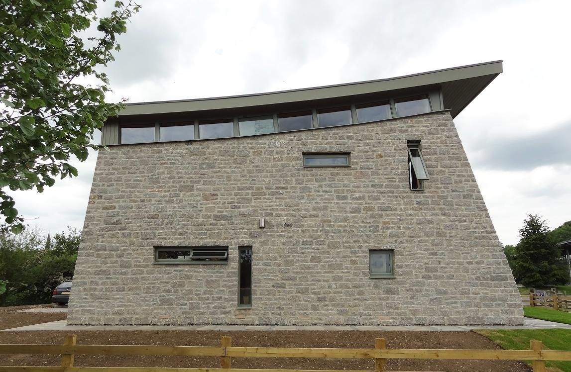 Exterior side view of Bakewell show office
