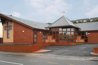 Disley Methodist Church external front view