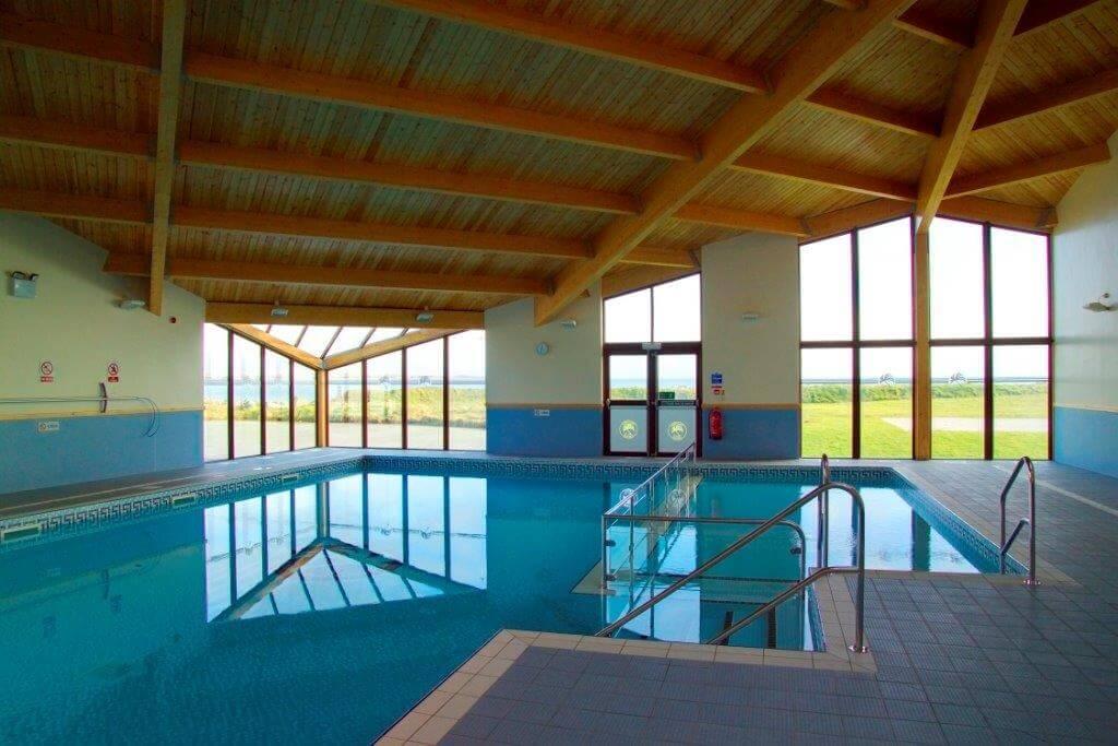 Gimblet Rock Leisure Complex indoor pool