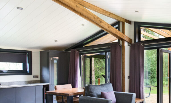 Glade living room internal cladding