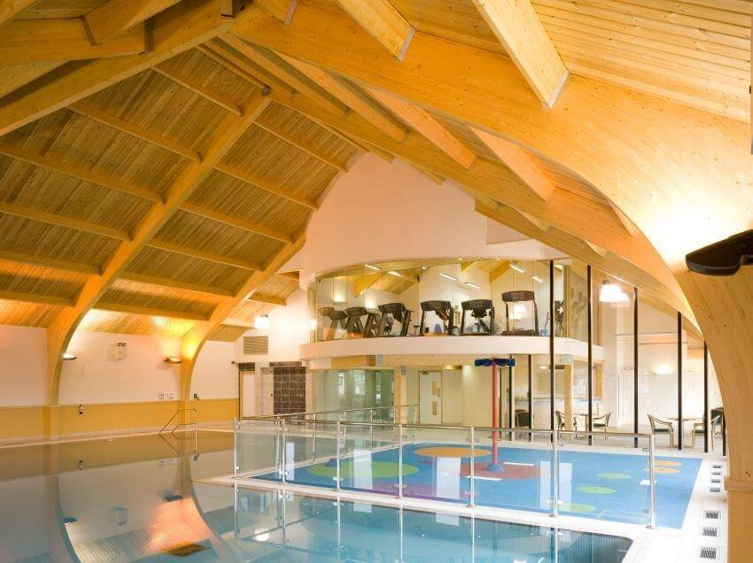 Home Farm Holiday Park, Fusion Leisure Centre swimming pool