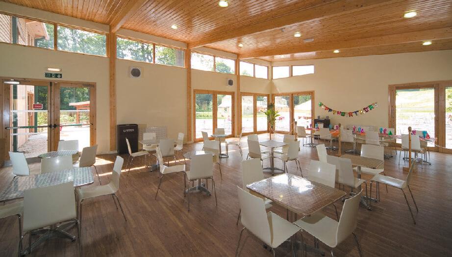 Monkey Forest Trentham cafe interior