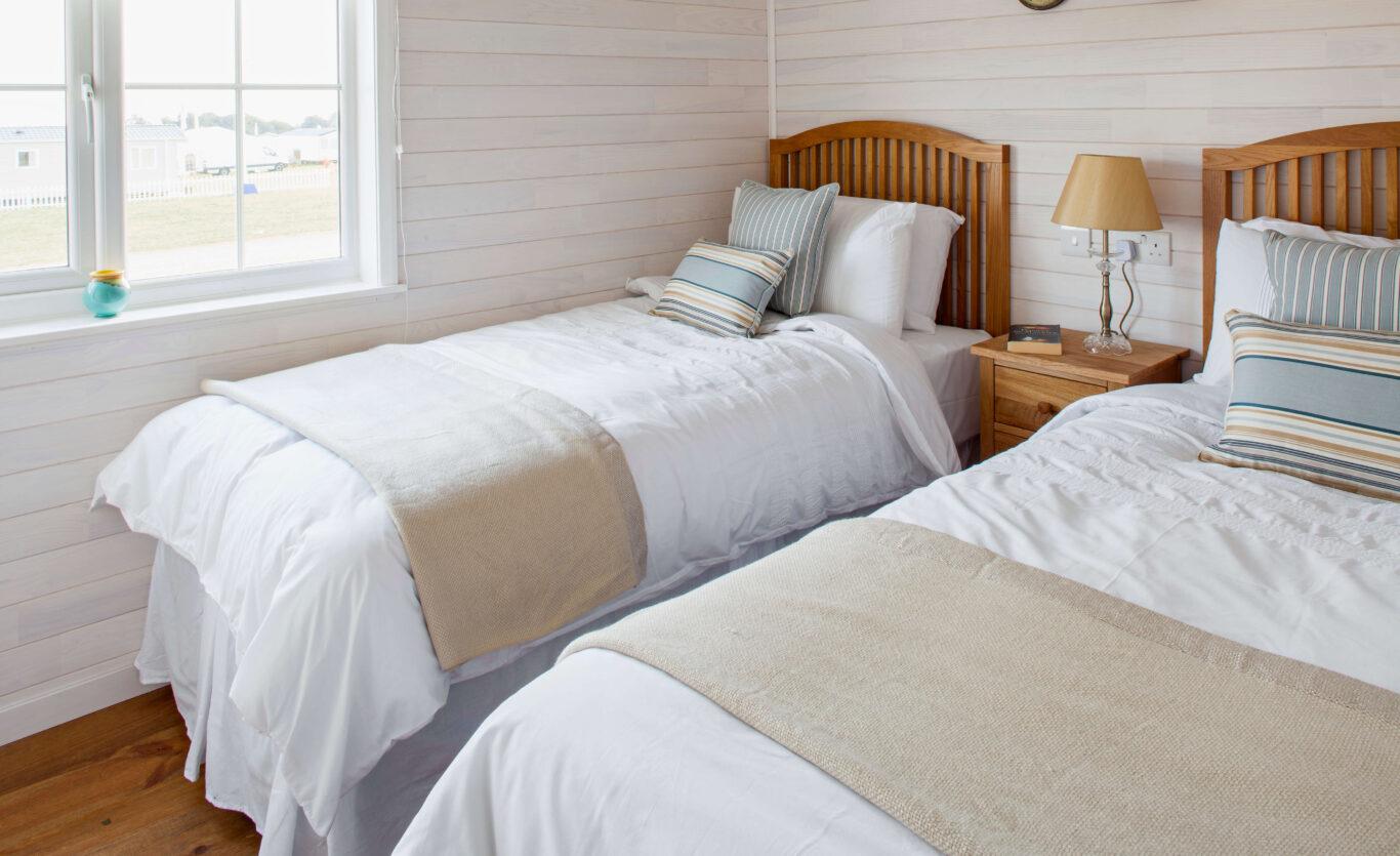 new england twin bedroom